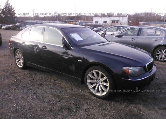 Inventory #900912318 2007 BMW 750