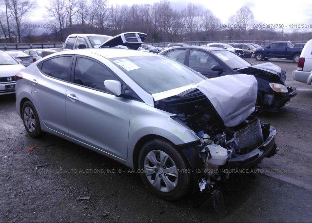 Inventory #566657149 2016 Hyundai ELANTRA