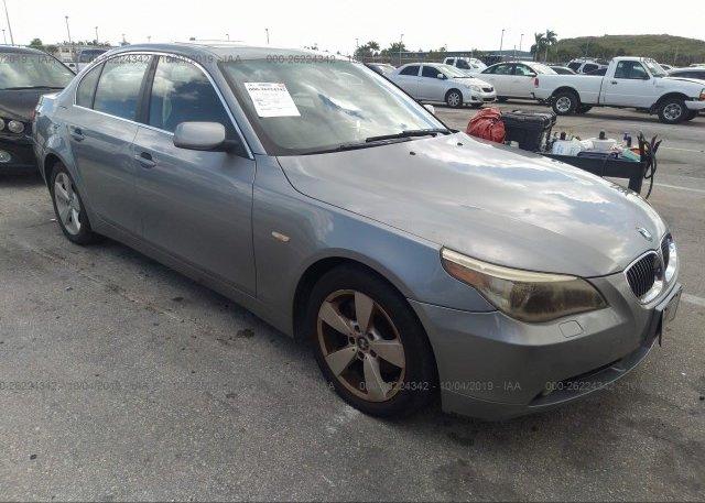 Inventory #844208103 2006 BMW 530