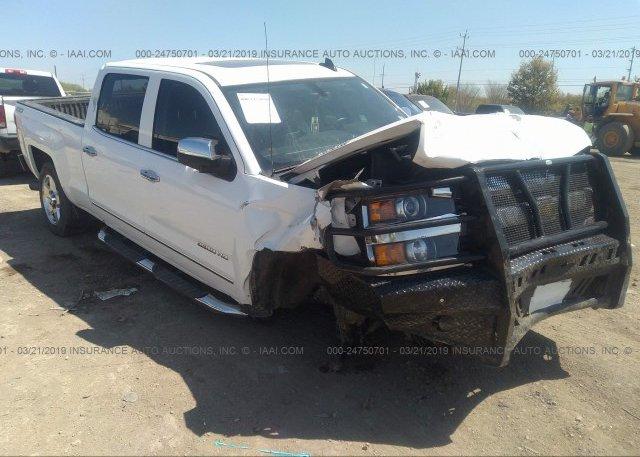 Inventory #796323392 2015 Chevrolet SILVERADO