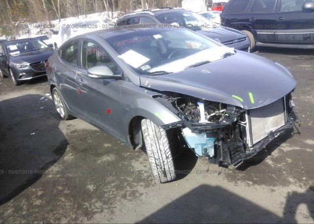 Inventory #688174849 2013 Hyundai ELANTRA