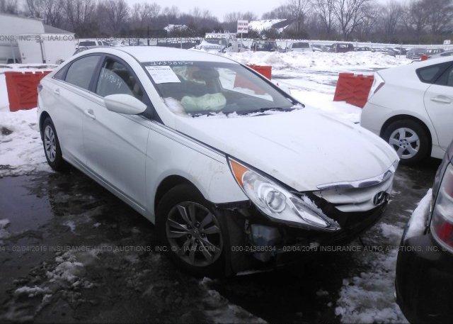 Inventory #968010451 2012 Hyundai SONATA