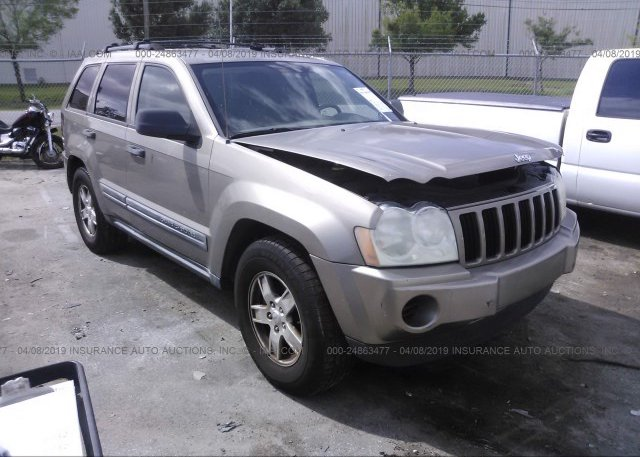 Inventory #662277239 2005 JEEP GRAND CHEROKEE