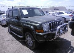 2007 JEEP COMMANDER - 1J8HH68297C673195 Left View
