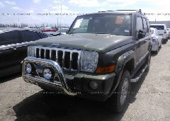 2007 JEEP COMMANDER - 1J8HH68297C673195 Right View