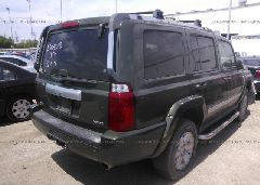 2007 JEEP COMMANDER - 1J8HH68297C673195 rear view