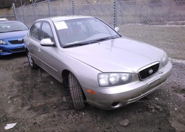 Inventory #621486934 2001 Hyundai ELANTRA