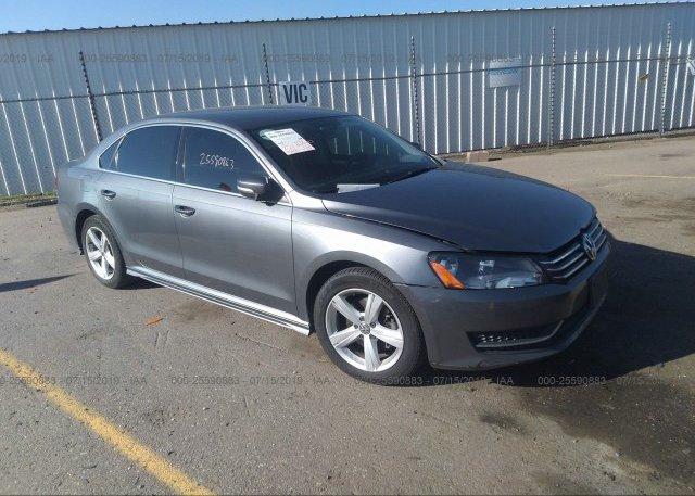 Inventory #693133956 2013 Volkswagen PASSAT