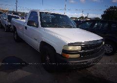 2002 Chevrolet SILVERADO - 1GCEC14W52Z264119 Left View