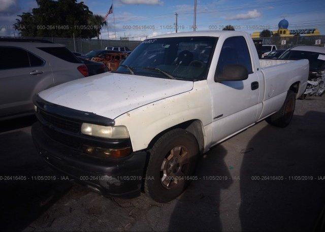 2002 Chevrolet SILVERADO - 1GCEC14W52Z264119