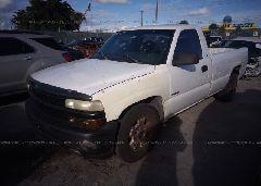 2002 Chevrolet SILVERADO - 1GCEC14W52Z264119 Right View