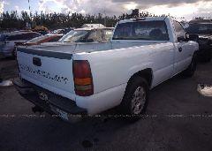 2002 Chevrolet SILVERADO - 1GCEC14W52Z264119 rear view