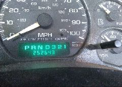 2002 Chevrolet SILVERADO - 1GCEC14W52Z264119 inside view