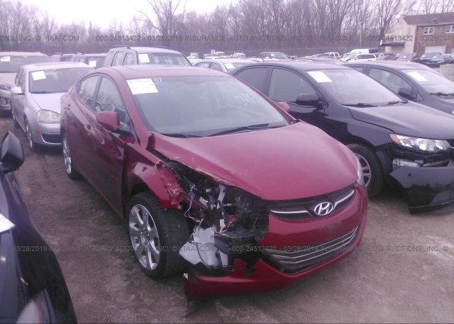 Inventory #590191921 2013 Hyundai ELANTRA