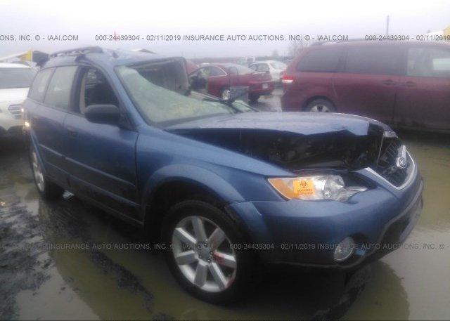 Inventory #588744805 2008 Subaru OUTBACK