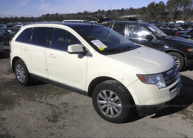 Fmdkcbb Clear Beige Ford Edge At Medford Ny On Online Auction By January   Salvagebid