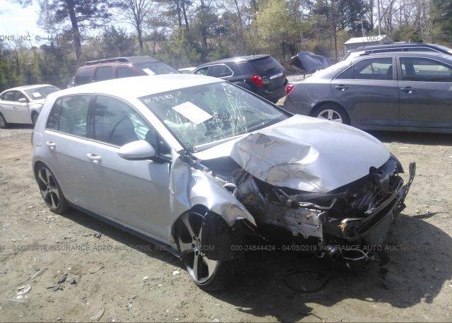 Inventory #931847987 2016 Volkswagen GTI
