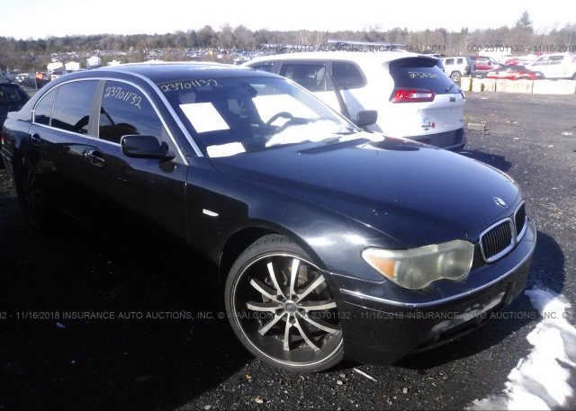 Inventory #881705853 2004 BMW 745