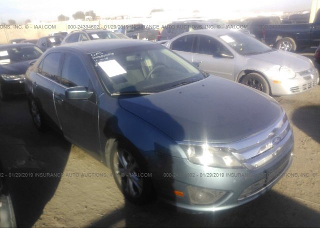 Inventory #415769862 2012 FORD FUSION