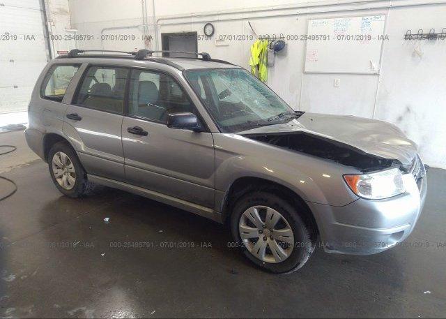 Inventory #924418902 2008 Subaru FORESTER