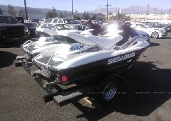 1999 SEA DOO RXT-300 - ZZN59804D999 rear view