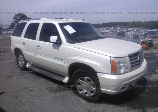 1GYEC63T22R190303, Salvage cream Cadillac Escalade at LAKE