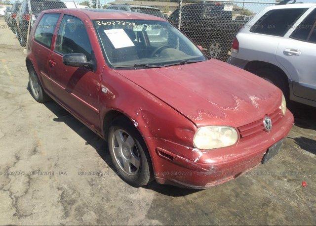 Inventory #567823808 2001 Volkswagen GTI
