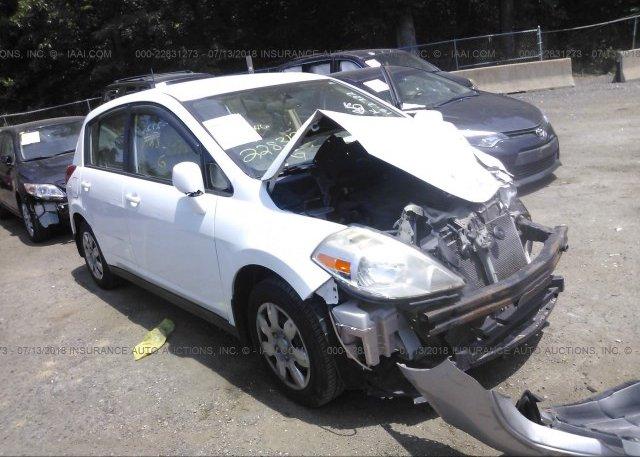 3n1bc13e27l370895 Salvage Greater Than 75 White Nissan Versa At
