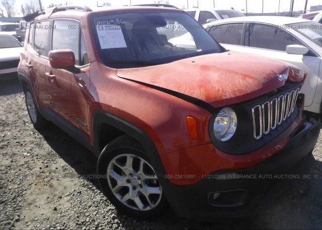Inventory #733229508 2015 JEEP RENEGADE