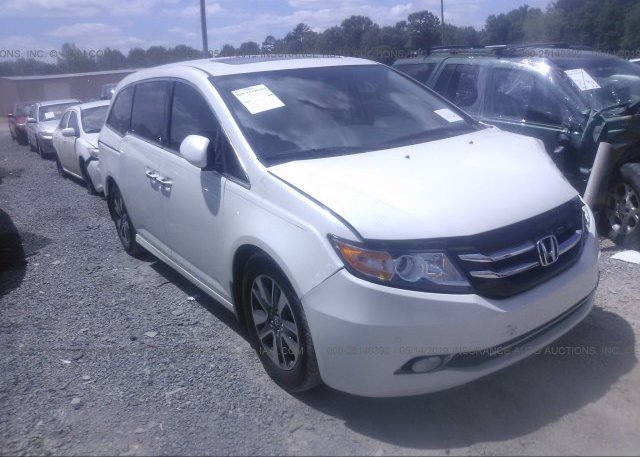 Honda Concord Nc >> 5fnrl5h98gb134216 Salvage White Honda Odyssey At Concord