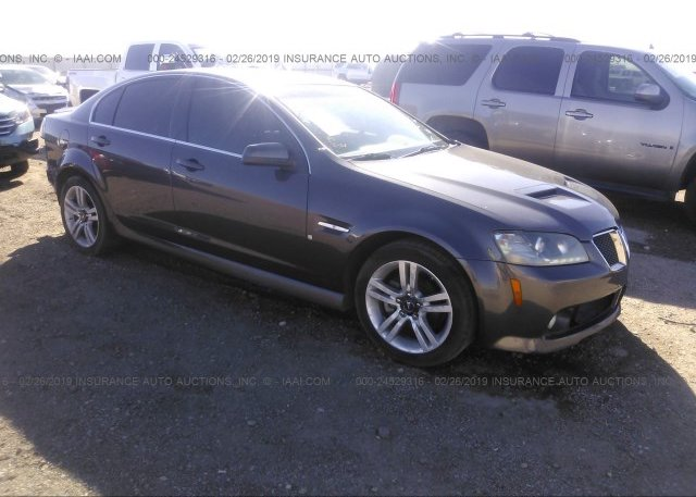 Inventory #710619325 2008 Pontiac G8