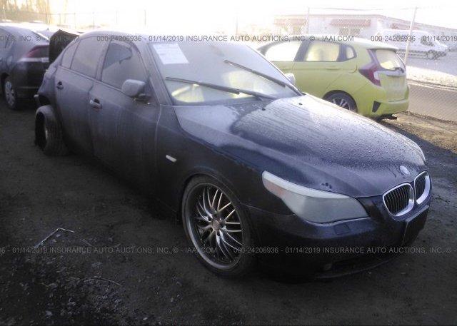 Inventory #557106130 2004 BMW 545