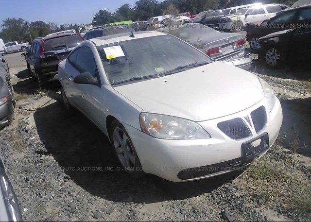 Inventory #220628106 2008 Pontiac G6