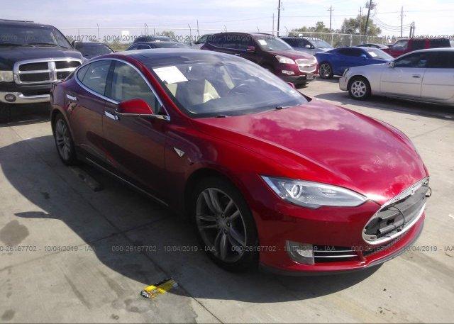 Inventory #772544690 2014 Tesla MODEL S