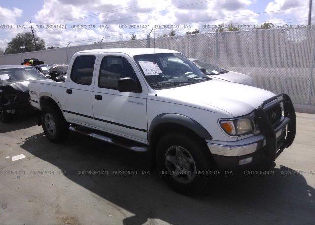 Inventory #813603479 2001 Toyota TACOMA