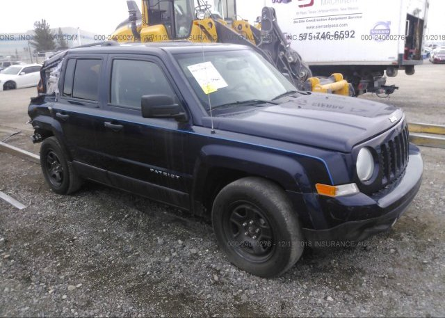 Inventory #844383615 2016 JEEP PATRIOT