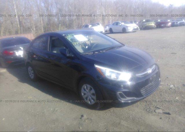 Inventory #954900871 2016 Hyundai ACCENT