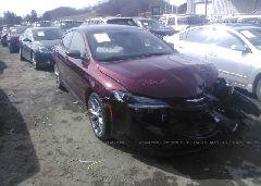 2015 Chrysler 200 - 1C3CCCDG3FN648672 Left View