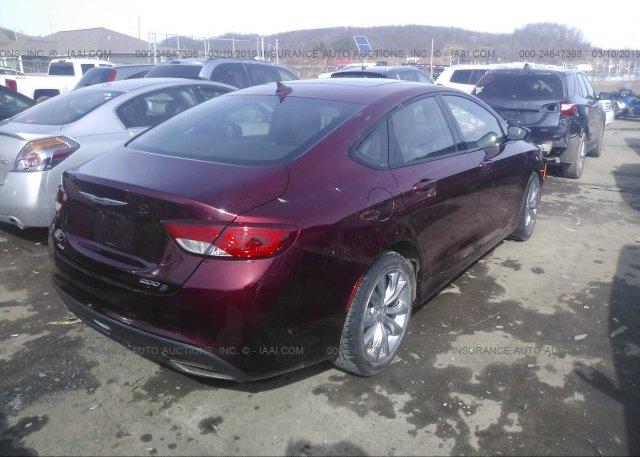2015 Chrysler 200 - 1C3CCCDG3FN648672