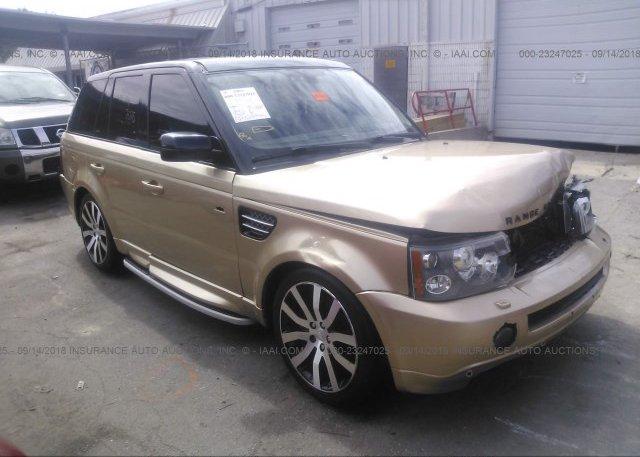 Inventory #266455277 2006 Land Rover RANGE ROVER SPORT