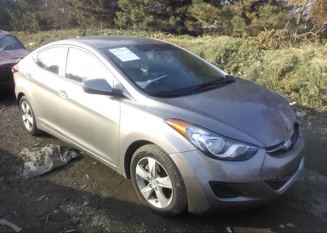 Inventory #406873016 2011 Hyundai ELANTRA