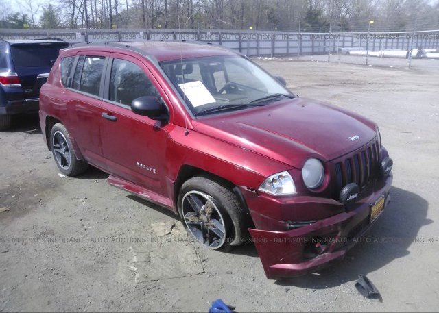 Inventory #278724174 2008 JEEP COMPASS