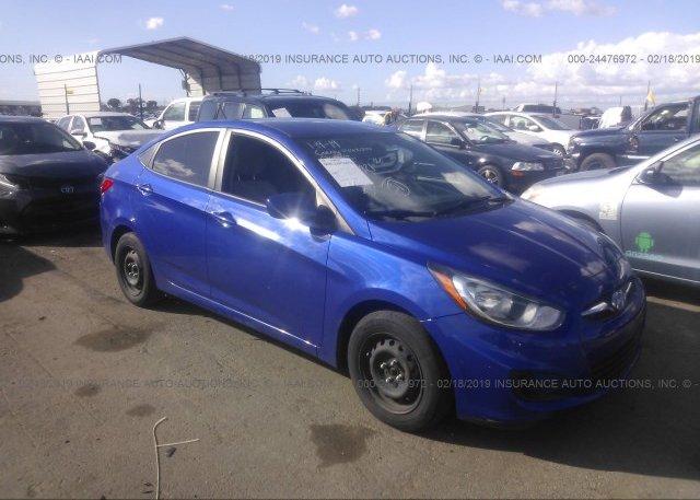 Inventory #596072128 2014 Hyundai ACCENT