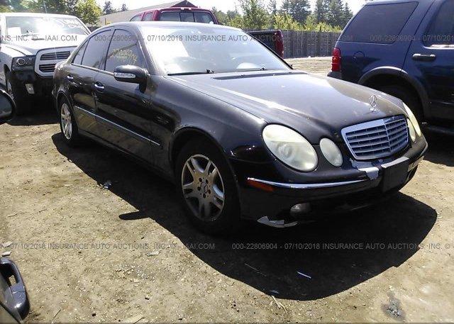 Inventory #871286553 2006 Mercedes-benz E