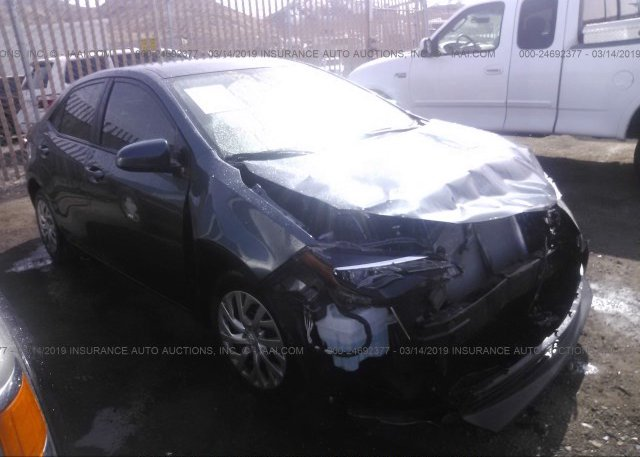 Bidding Ended On 2t1burhe6jc116375 Salvage Toyota Corolla At