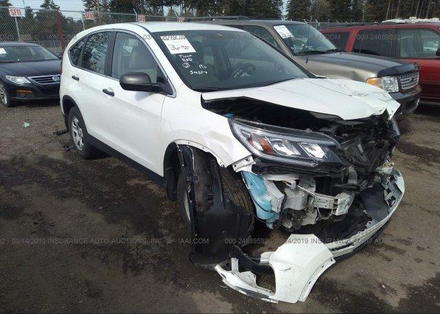 Inventory #102370273 2016 Honda CR-V