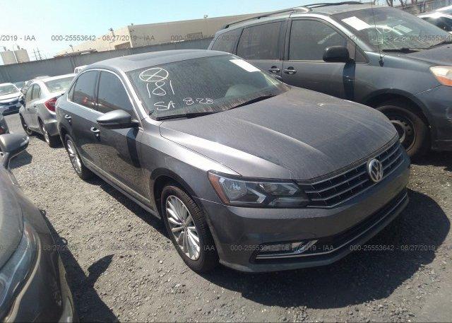 Inventory #841002173 2016 Volkswagen PASSAT