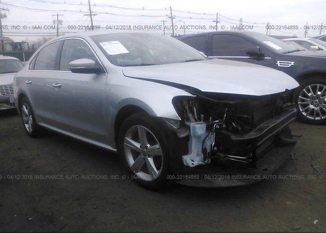 Inventory #675712540 2015 Volkswagen PASSAT