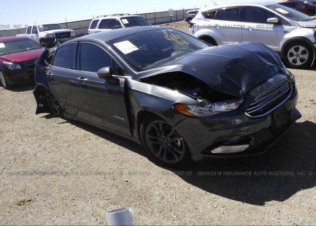 Inventory #611594188 2018 FORD FUSION