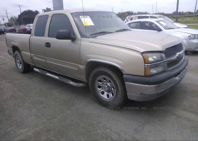 Inventory #920507035 2004 Chevrolet SILVERADO